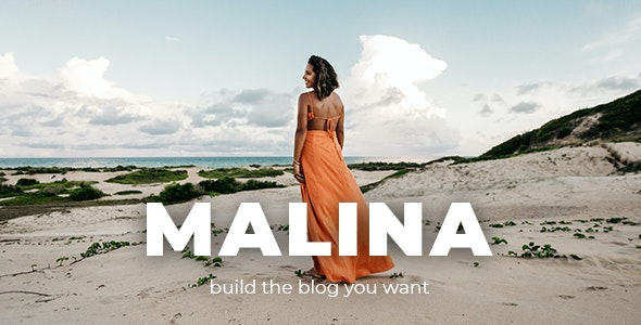 Nulled Malina v2.2.0 - Personal WordPress Blog Theme