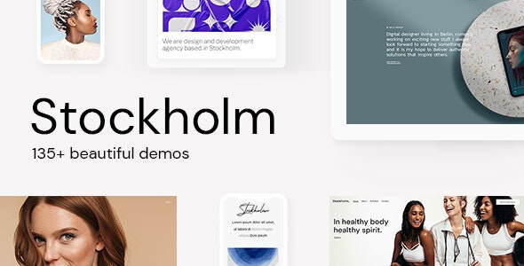 Nulled Stockholm v7.8 - A Genuinely Multi-Concept Theme