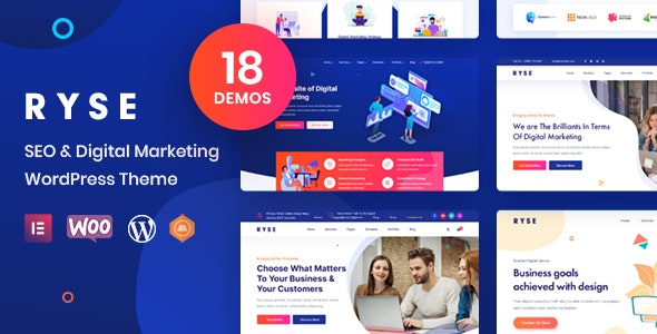 Nulled Ryse v3.0.1 - SEO & Digital Marketing Theme