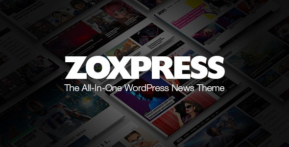 Nulled ZoxPress v2.03.0 - All-In-One WordPress News Theme