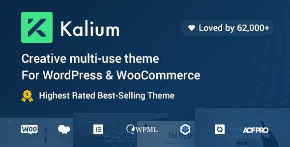 Nulled Kalium v3.2.1 - Creative Theme for Professionals