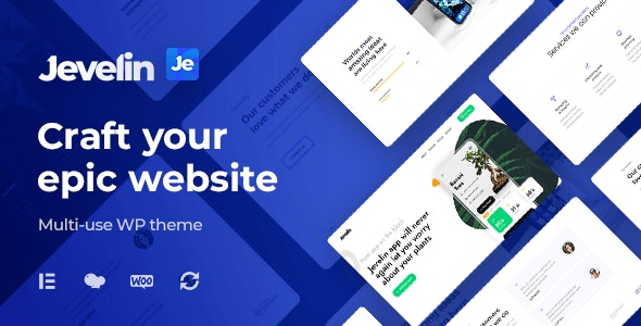 Nulled Jevelin v5.0.2 - Multi-Purpose Premium Responsive Theme