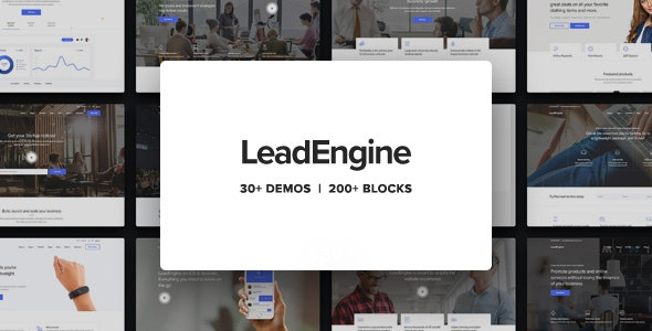 Nulled LeadEngine v2.9 - Multi-Purpose Theme with Page Builder