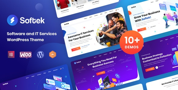Nulled Softek v1.2.0 - Software & IT Solutions WordPress Theme